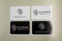 Coredump Stickers