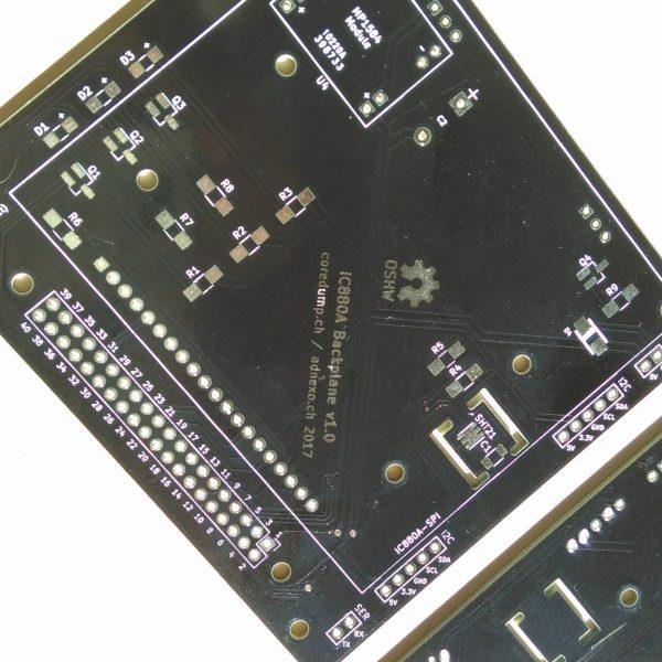 iC880A Backplane v1.0